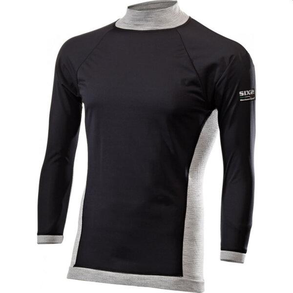 SIXS Windshell Merino Langarmshirt