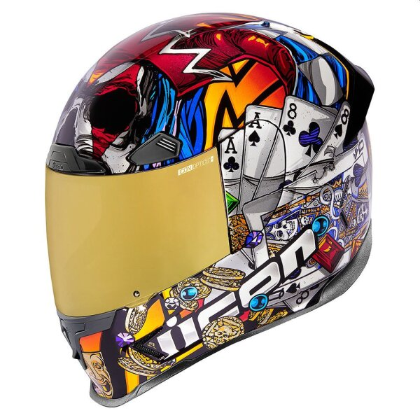 Icon Airframe Pro Lucky Lid 3