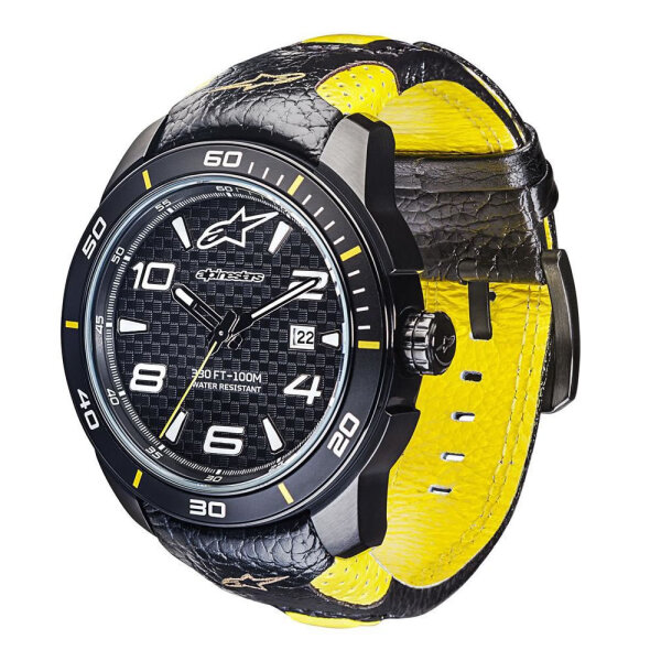 Alpinestars Tech 3H Armbanduhr Schwarz/Gelb