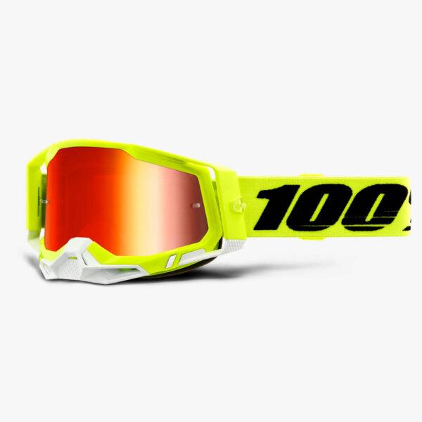 100% Racecraft 2 Extra Yellow Brille