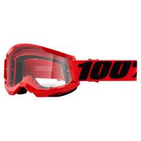 100% Strata 2 Red Brille
