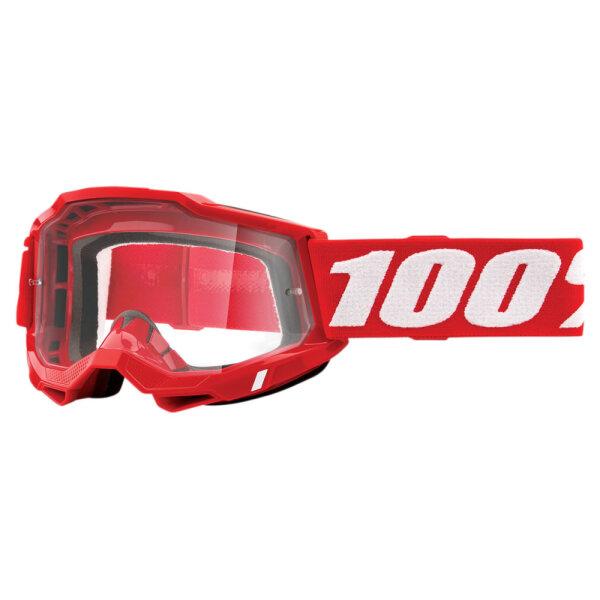 100% Accuri 2 Neon Red