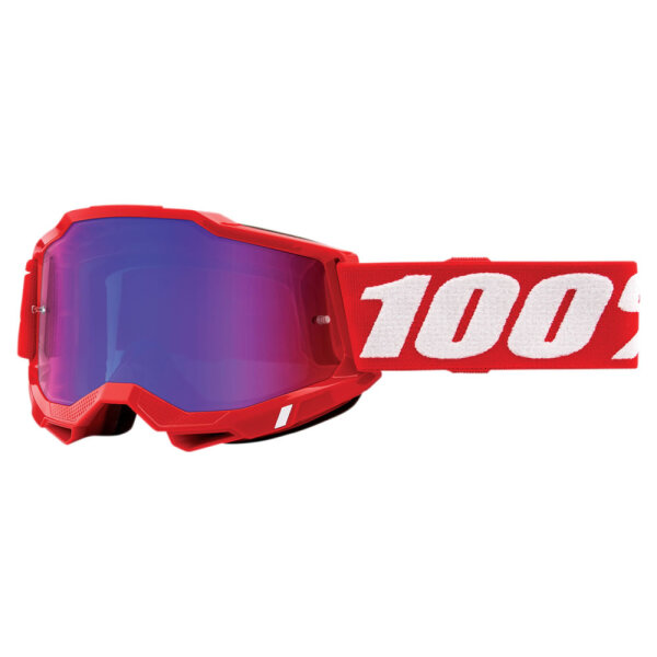 100% Accuri 2 Extra Neon Red