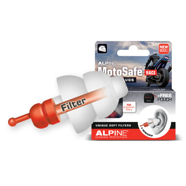 Alpine MotoSafe® Race Gehörschutz