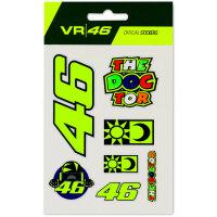 VR46 Kleines Sticket Set 2020