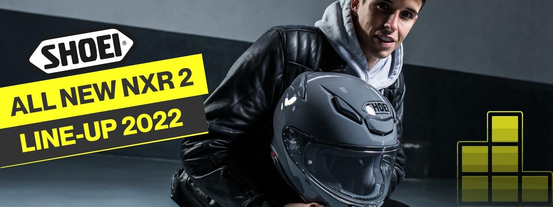 NXR 2 - der neue Helm von Shoei - jetzt entdecken!