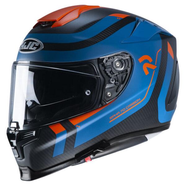 Schwarz/Blau/Orange